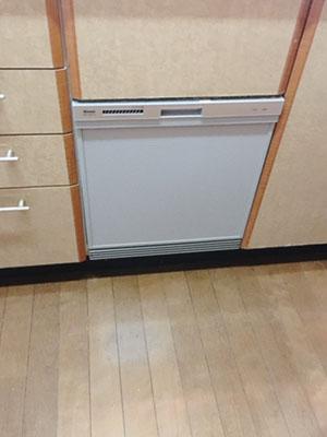 ビルトイン食洗機 リンナイ スライドオープンタイプ・シンク下設置 RSWA-C402C-SV
