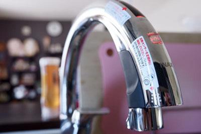 蛇口 LIXIL タッチレス水栓 ナビッシュハンズフリー・A10タイプ・浄水器ビルトイン型 JF-NA411S(JW)