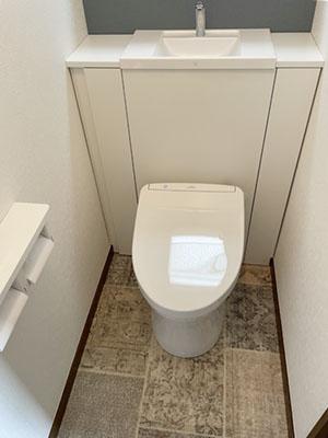 トイレ TOTO システムトイレ・レストパルI型・手洗器あり UWCCB1CFN81NN1WDA