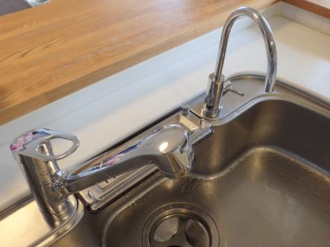 TOTO キッチン用水栓GGシリーズ『TKGG32EBR』 三菱レイヨン 浄水器専用水栓 『A103ZC』