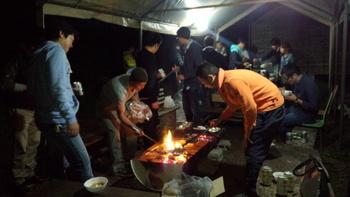 施工部 BBQ in 麦の郷 パート2