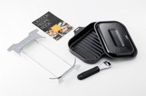 パロマのグリル専用調理器具「ラ・クック」