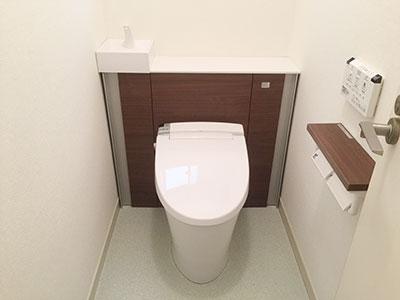 大人気システムトイレ:リフォレの施工現場をご紹介!