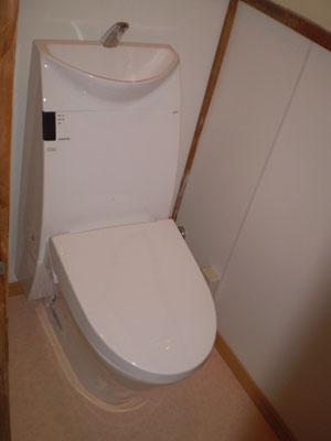 工事後のトイレ