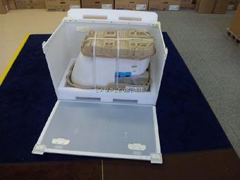 便器の梱包