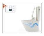 リモコン便器洗浄